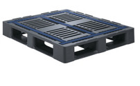 Heavy duty pallet, non-slip coating