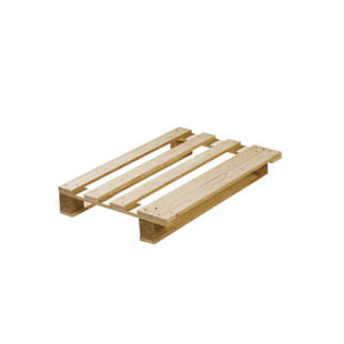 Reusable half format display pallet, pack of 10
