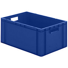 Euro stacking container, closed walls and base