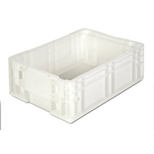 Stacking container made of polypropylene