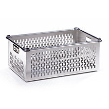 Transport basket made of aluminium