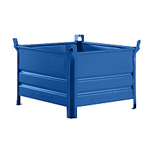 Solid wall stacking container, WxL 800 x 1000 mm