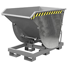 Tilting skip, narrow version