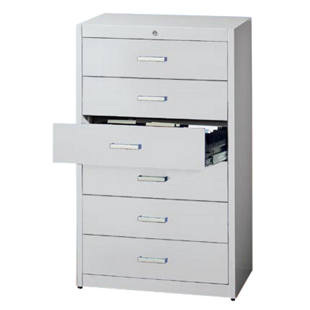 Card file cabinet, bar handles