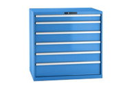 Drawer cupboard, sheet steel