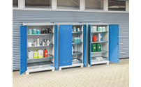 Environmental cupboard for outdoor storage