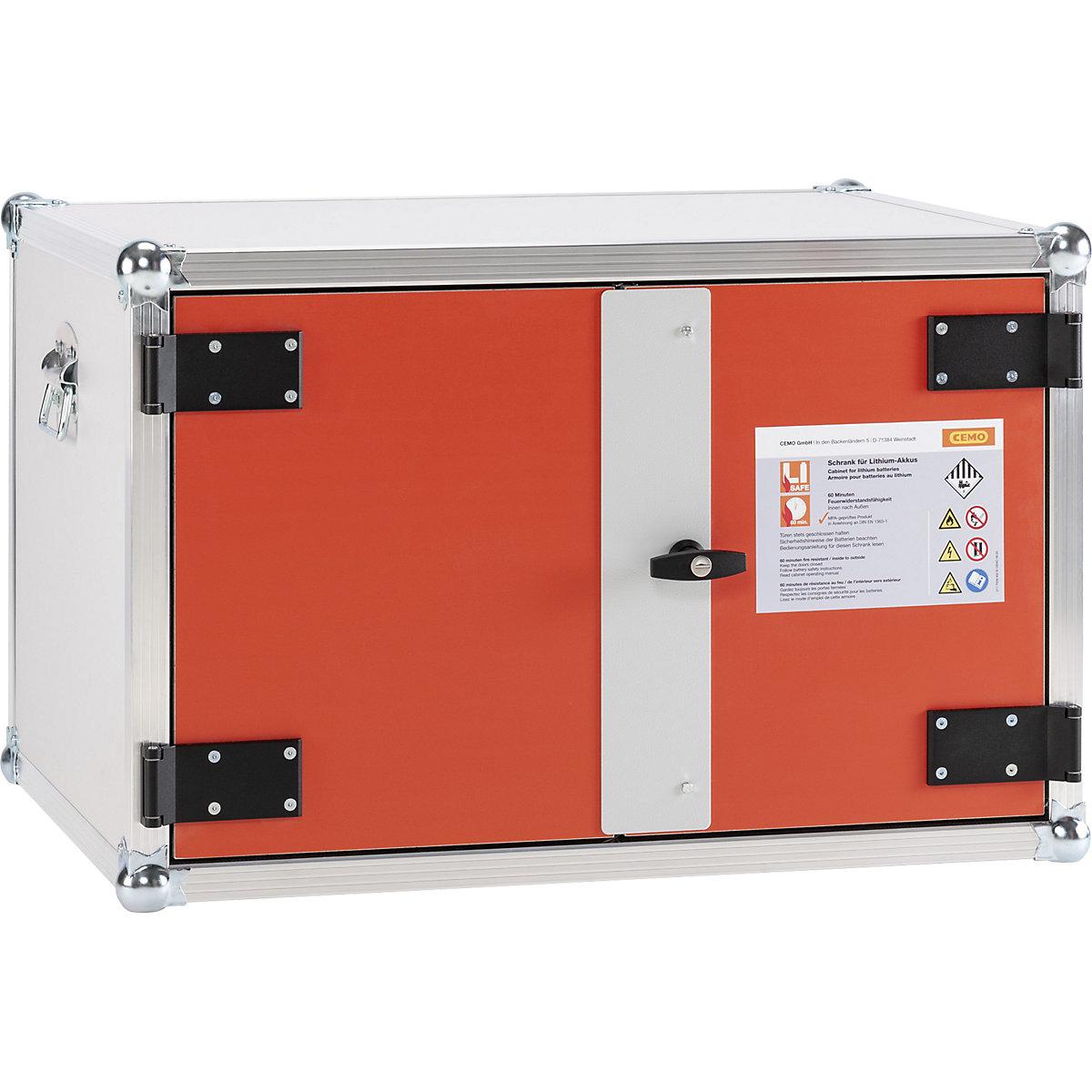 Cemo Fr 60 Safety Battery Charging Cabinet Premium Wxdxh 890 X 660 X 520 Mm Kaiser Kraft International