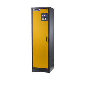 Hazardous goods storage cupboard, fire resistant