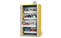 PHOENIX Vol. 2 folding door cupboard, semi-automatic hazardous goods storage cupboard, type 90