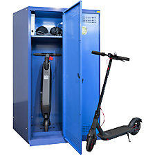 Charging cabinet for electric scooters