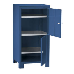 Tool cupboard with feet