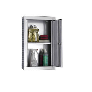 Stainless steel wall cupboard