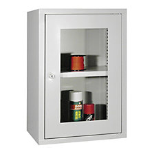 Wall mounted cupboard, height 600 mm