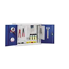 Wall mounted tool cupboard