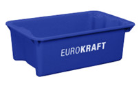 Stack/nest container made of polypropylene suitable for foodstuffs