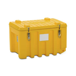 Universal box made of polyethylene