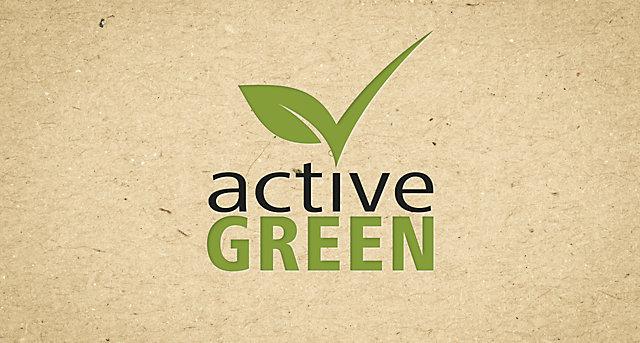 Produkte, die wir besonders umweltschonend herstellen, markieren wir mit dem active green Label