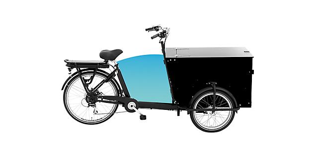Bicicletă E-Cargo PRO pha