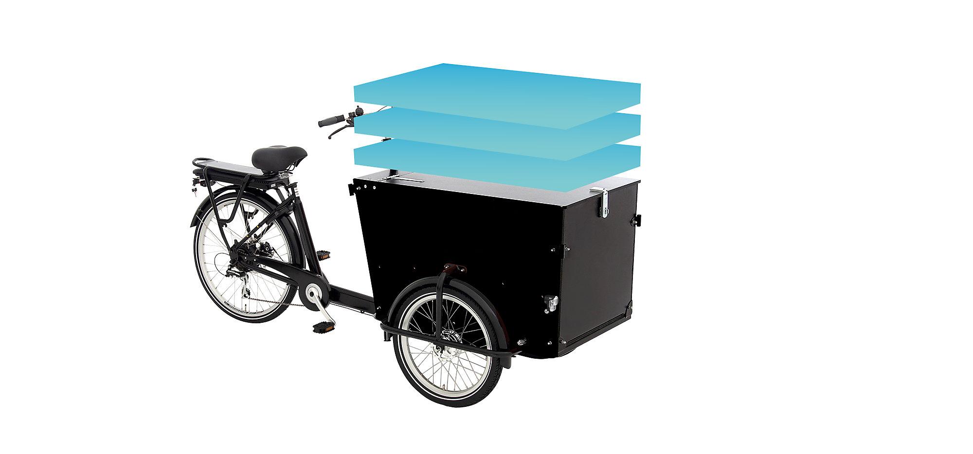 Bicicleta para cargas pesadas E-Cargo PRO ze$