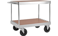 JUMBO zinc plated workshop trolley