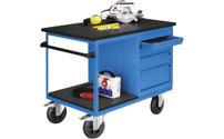 Mobile workbench, max. load 500 kg