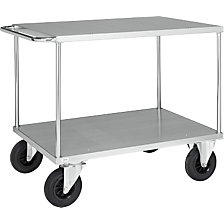 Workshop trolley, zinc plated