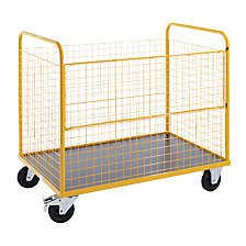 Wire mesh box truck, max. load 350 kg