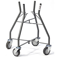 Mortar tub trolley