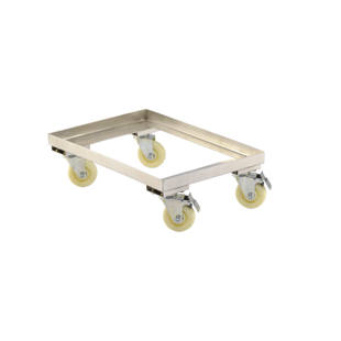 Stainless steel dolly