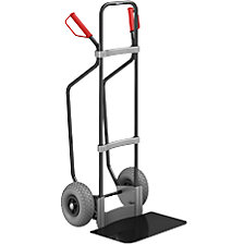 GO sack truck with runners, black