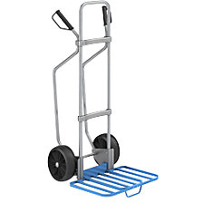 GO sack truck with runners, zinc plated