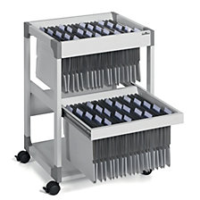 MULTI DUO suspension file trolley
