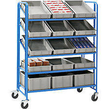 Euro container shelf truck