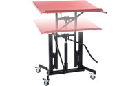 XL material stand, mobile