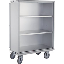 Aluminium cupboard trolley