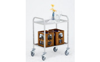 Aluminium serving trolley