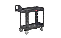 General purpose table trolley made of plastic