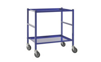 Table trolley with 2 shelves