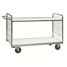 Flexible shelf truck