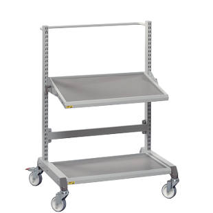 Multi-purpose trolley, ergonomic