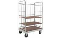 Multi-shelf truck, zinc plated