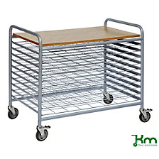 Professional drying trolley