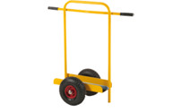 Panel trolley with push handle