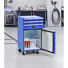 Tool trolley with fridge