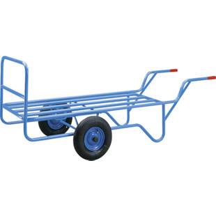 Two-wheel truck with tubular platform