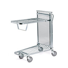 Shopping trolley, zinc plated