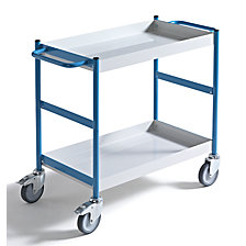 Service trolley with trays