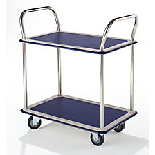 Table trolley chrome plated