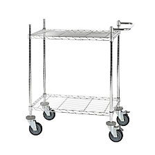 Wire mesh table trolley