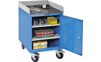 Assembly trolley, powder coated